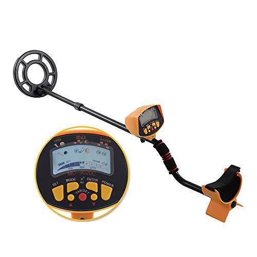 HUKOER MD-9020C Detector de Metales de Alta precisión Buscador de Metales Gold Digger Bobina de búsqueda...