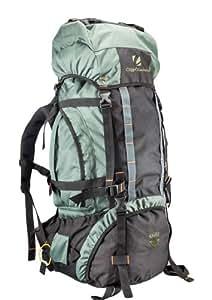 Cliff Climbers Unisex Magnus 75L PU Rucksack Green & Black