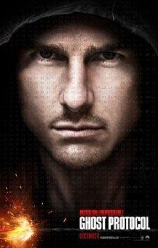 Mission Impossible protocole fantôme Mini Poster 28cm x 43cm 27,9x 43,2cm Movie Poster
