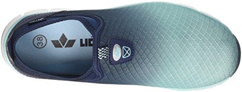 Blu in tuerkis Donna Slip Marine Multi Marine Geka tuerkis Sneaker Infilare xRYEq1n