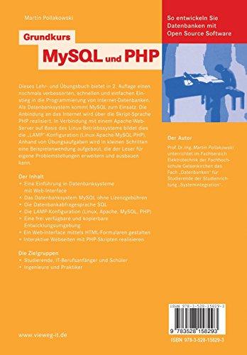 Grundkurs MySQL und PHP: So entwickeln Sie Datenbanken mit Open Source Software (German Edition) - Bild 2