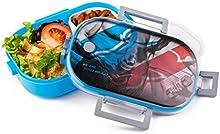 Fiambrera Sport Diseño Arctic®-Lavado de fuga Depósito para Alimentos-Excelente escritorio para sus Fitness de dietas de estilo de vida Sana