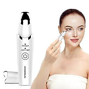 Hangsun Augenmassagegert Sonic Anti Aging42 Beheizte Em60 Antifalten Massagegert Fr Schwellungen Dunkle Augenringe Batteriebetrieben