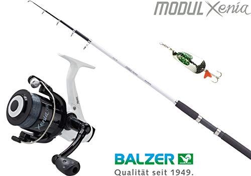 Balzer Angelset: Xenia Tele 40 + Xenia 1250 RD + Blinker 2,40 m