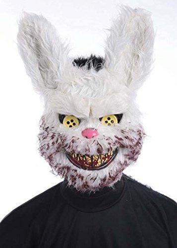 Maske Halloween Scary Zombie Bunny Rabbit