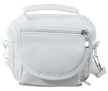 Emartbuy® White Nintendo DS Lite/DSi/DSi XL/3DS/3DS XL Travel Bag Carry Case