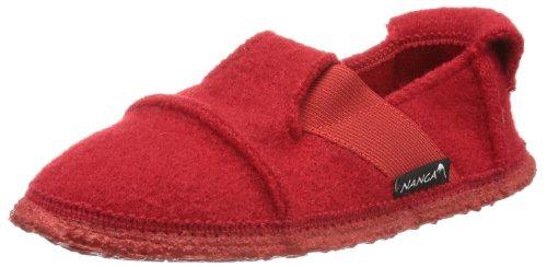 Nanga Unisex Berg Hausschuhe, Rot (rot / 20), 20 EU (Himbeer-flache Schuhe)