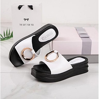 RTRY Donna Sneakers Comfort Pu Molla Informale Comfort Mandorla Ruby Piatto Nero US6 / EU36 / UK4 / CN36