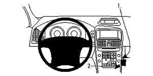 Brodit 854296 ProClip für Volvo XC 60 09-10 schwarz