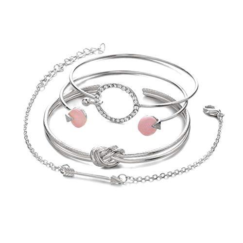Meigold Persönlichkeit Armband Armband Set Diamant Armband Frauen Schmuck