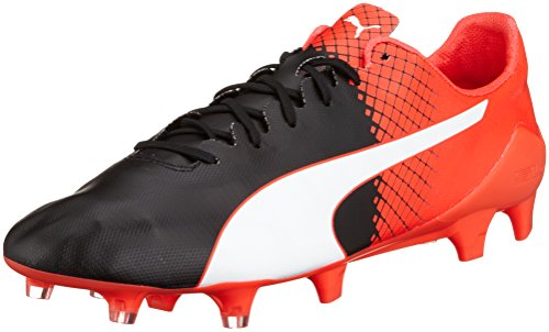 Puma evoSPEED SL II Tricks FG, Chaussures de football homme Noir (puma black-puma White-Red blast 03)