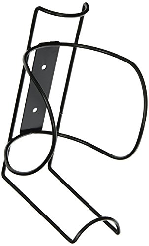 Buddy Products Large Wipe Canister Holder Wall Mount, 4.5 x 8.5 x 4.5 Inches, Black (0677-4)