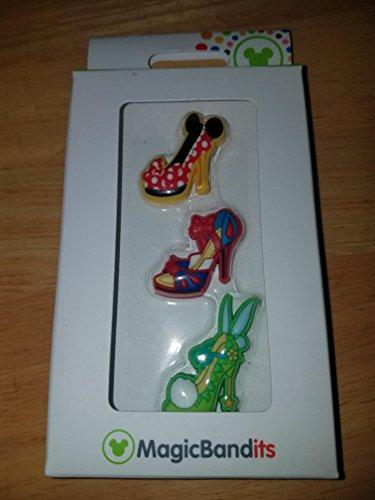 Disney Parks Charakter Schuh Ornament Magic Band Banditen-Set von 3Charms