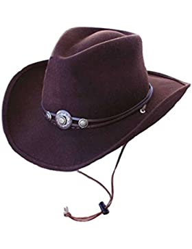 AW-Collection - Sombrero cowboy - para hombre