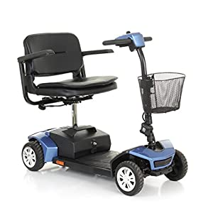 Van Os Medical Travelux Tiempo Rapide Suspension Travel Mobility Scooter
