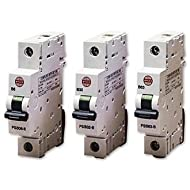 Wylex PSB32-B NH Series 1 Module Single Pole Type B Miniature Circuit Breaker MCB 32A 10kA by Electrium Wylex