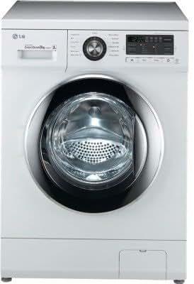LG F1496TDP23 Fully-automatic Front-loading Washing Machine (8 Kg, White)