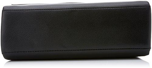 Frame Top Handle Satchel, Womens Black, 12x22x31 cm (B x H T) Calvin Klein Jeans
