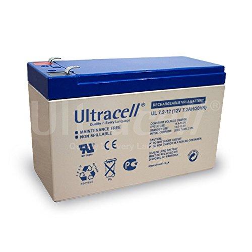 Ultracell Ersatzakku für USV APC Back-UPS ES400, 12V, Lead-Acid