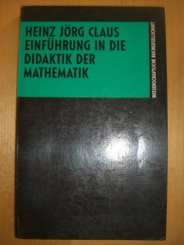 Einführung in die Didaktik der Mathematik