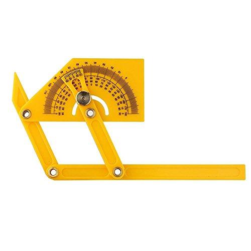 Kobwa angleizer plantilla herramienta, profesional multi-ángulo de instrumento de medición 0–180Buscador de...