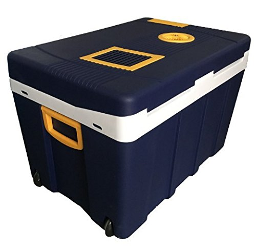 Preisvergleich Produktbild GZD 50L Car refrigerator Car dual-use student dormitory mini fridge Home Car Cold and warm box Refrigeration Heating Mini fridge 61.5 * 42 * 42cm Power 48W
