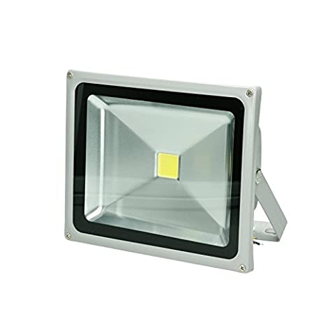 ECD Germany 30W LED FloodLight Warm White 3000 Lumens Outdoor Lights