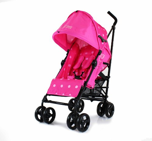 Zeta Vooom Stroller (Pink Dots)