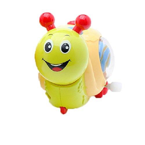 Satz von 2 Schöne Tiere Wind-up-Spielzeug für Kinder, Schnecke (Farbe Random)