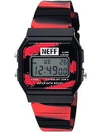 Neff Women's Flava Watch Tiger Blood Black