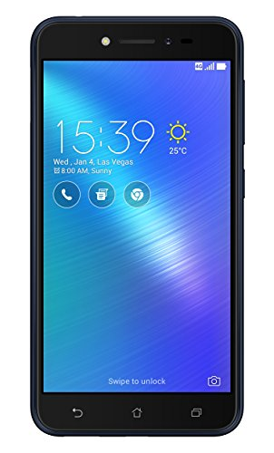 Asus ZenFone Live Dual-SIM Smartphone (12,7 cm (5,0 Zoll) HD Touch-Display, 16 GB Speicher, Android 6.0) schwarz