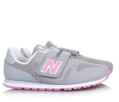 New Balance Kids Lifestyle 373 Synthetic filles, suède, sneaker low Grigio