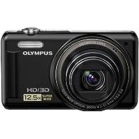 Olympus VR-330 Appareil Photo Numérique Compact 14 Mpix zoom 12.5 x écran 3 pouces Noir