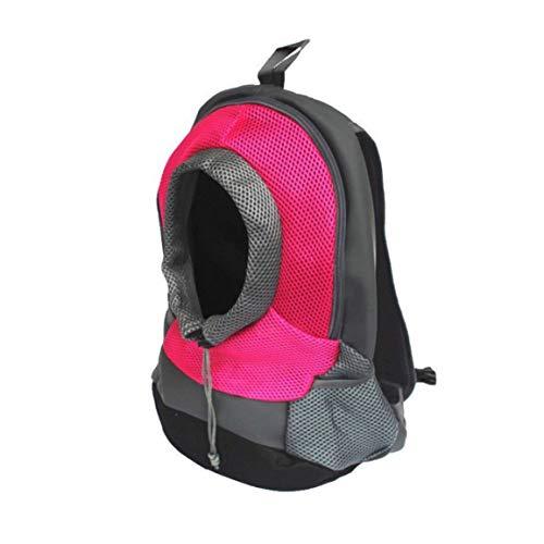 fghfhfgjdfj Outdoor Pet Dog Carrier Bag Pet Backpack Portable Travel Bag Head Out Pet Cat Dog Front Bag Breathable Mesh Backpack -