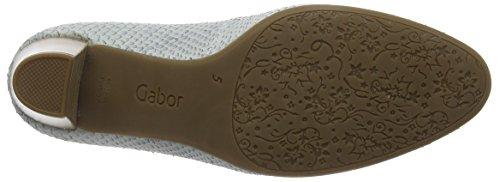 GaborGabor Comfort - Scarpe con Tacco Donna Blu (22 blue grey)