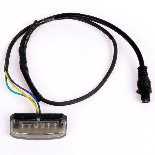 12V LED Rücklicht Bremslicht E-geprüft für Mach1 E-Scooter Modell-5 EEC-48V/1000W Licht