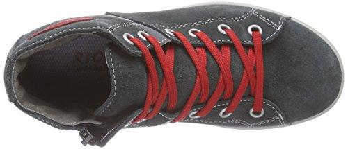 Ricosta Janno, Sneaker alta Ragazzo Grigio (Grau (grigio 483))