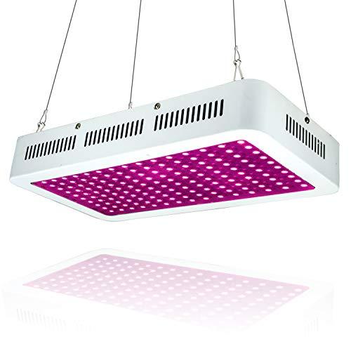 Indoor-ersatz (WYZM LED Pflanzenlampe Grow Lampe,1500W HPS-Ersatz,Volls pektrum-Indoor-Wachstumslampe,spezielles Design für Indoor-Wachstumsanlagen,100-240V-Eingang (150X10W))