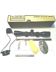 BSA 550 4x32 WR Air-zielfernrohr bereit mounten - mit Mil-dot, 4 mal vergrößerung, 32mm lichtscheibe und zwei halterung already ausgestattet. Von Farm Ferienhaus Marken