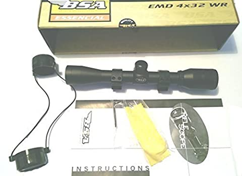 BSA 550 4x32 WR Air Rifle Scope ready to mount