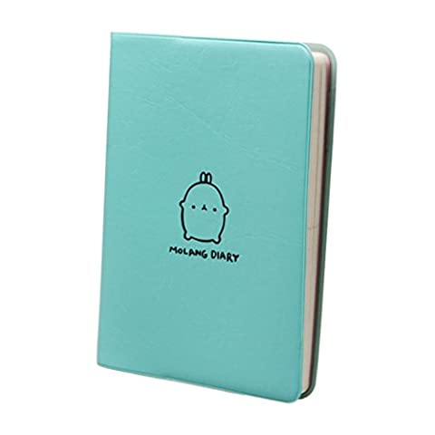 Molang Diary Weekly Planner Agenda Bloc-notes Notebook Bleu