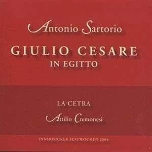 Sartorio: Giulio Cesare in Egitto