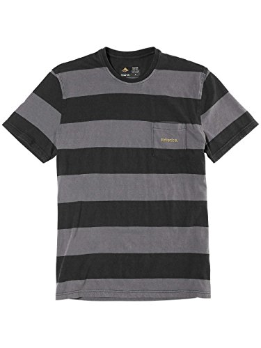 Herren T-Shirt Emerica Jailbird Crewneck T-Shirt Black