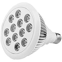 COOSA Nuevas Luces LED para Plantas, Bombillas de Crecimiento Vegetal para su Jardín Invernadero, Hidropónico y Spectrum completa, Lámparas Crecientes