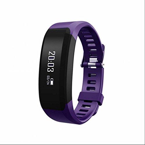Fitness Armband,Herzfrequenzmesser,Schrittzähler,Schlaf-Monitor,Aktivitätstracker,Anrufen/SMS,finden Telefon Bluetooth Smart für Android Smart Bracelet Phone mit iPhones/iOS System