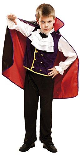 My Other Me Me-203271 Disfraz de Rey Vampiro para niño, 3-4 años (Viving Costumes 203271)