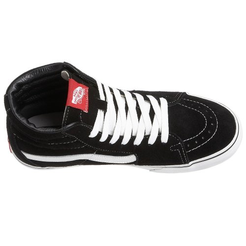 Vans Sk8-Hi, Sneakers Alti Unisex-Adulto Nero/Bianco