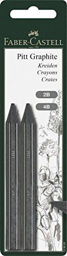 faber-castell-pitt-grafito-2b-4b-crayons