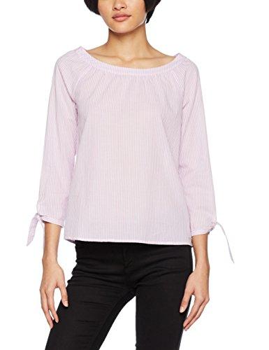 s.Oliver Damen Bluse 04.899.19.4762, Rosa (Serenity Rose Stripes 43g4), 42 (Shirt Stripe Langarm-dobby)