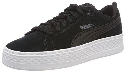 Puma Smash Platform SD, Zapatillas para Mujer, Negro Black, 37 EU
